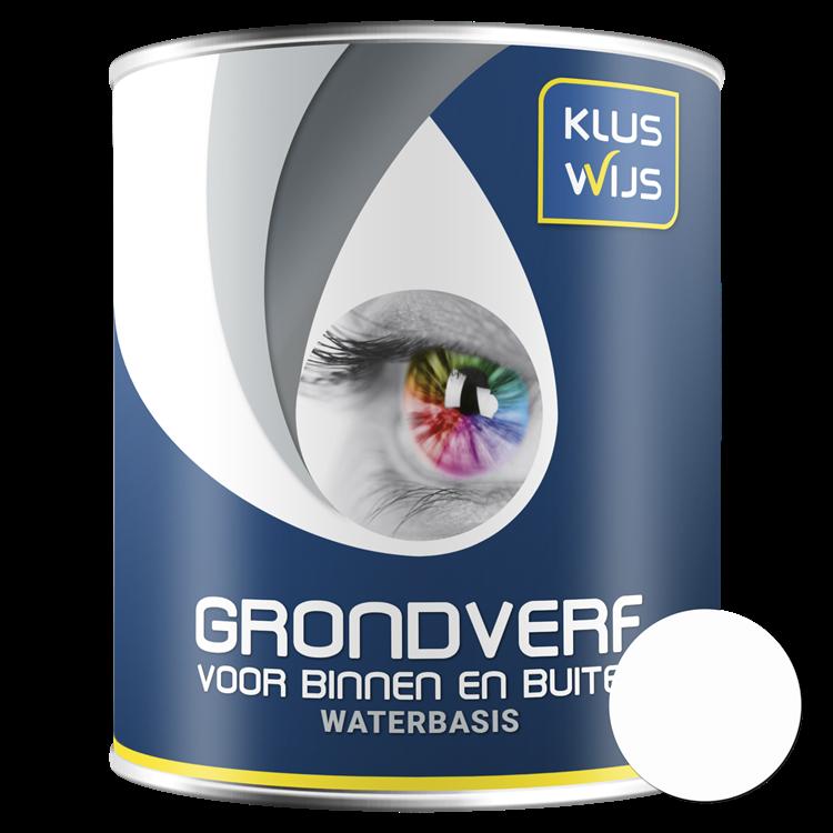 KlusWijs Grondverf Acryl waterbasis wit 750ml