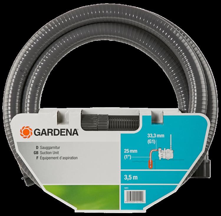 Gardena aanzuiggarnituur van 3,5 m
