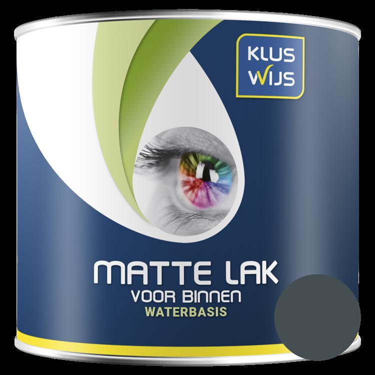 KlusWijs Matte lak waterbasis RAL7016 250ml