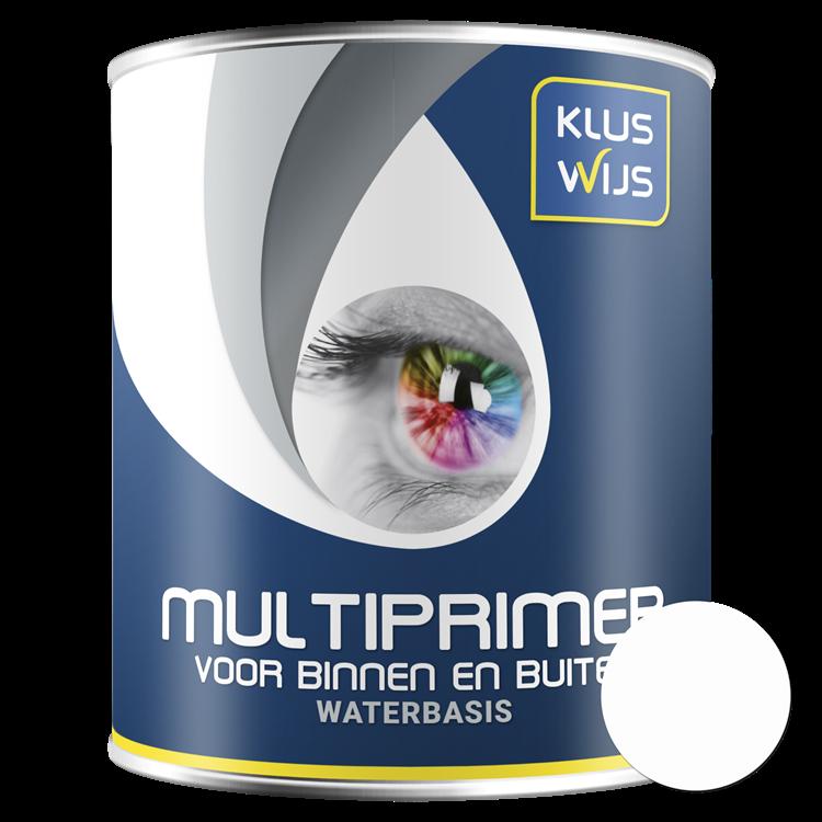KlusWijs Multiprimer waterbasis Wit 750ml