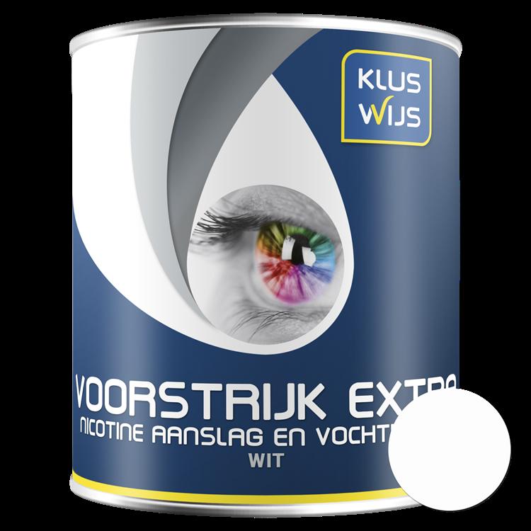 KlusWijs Voorstrijk waterbasis Extra Wit 750ml