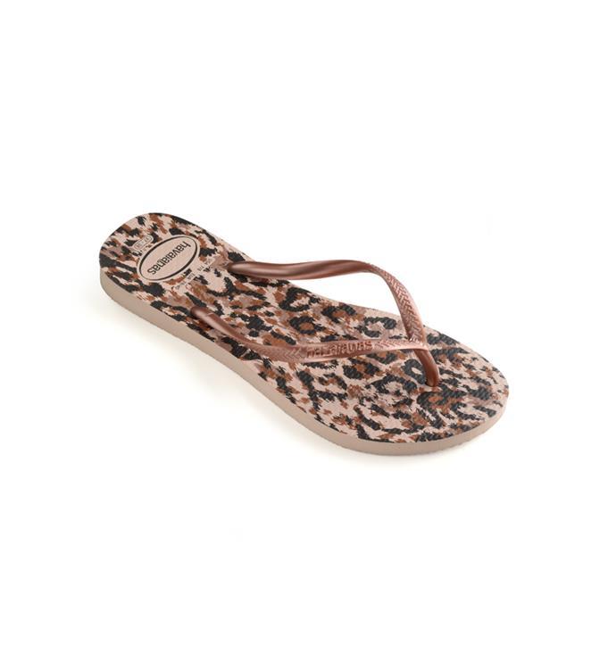 Havaianas Slim Animals Ballet Rose Slippers