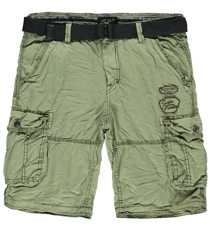 Cars Jeans  Durras Short Cotton Olive
