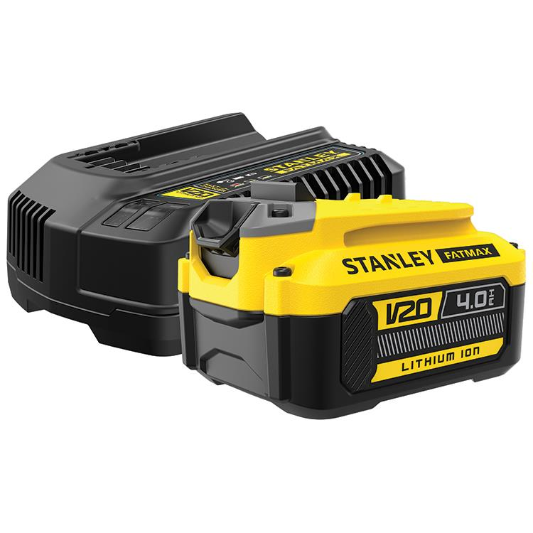 Stanley Fatmax V20 18V 4.0Ah Startpakket SFMCB14M1-QW