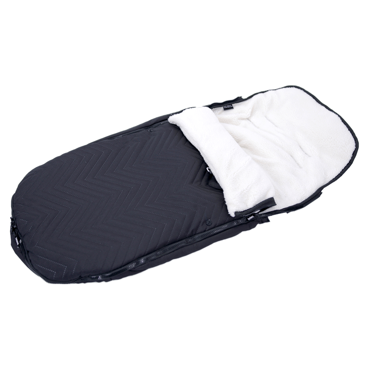 Footmuff De Luxe Black