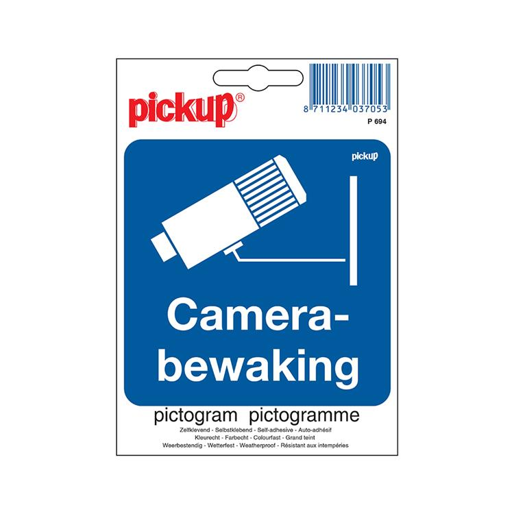 PICKUP Pictogram 10x10cm - Camerabewaking
