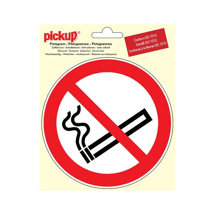 PICKUP Pictogram P800-15 diameter 18cm verboden te roken