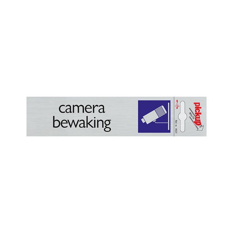 PICKUP Deurbordje 4631, 16,5x4,5cm, camera bewaking
