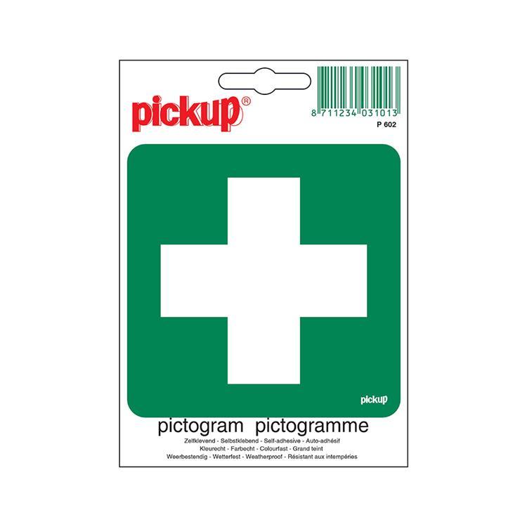 PICKUP Pictogram P602 10x10cm EHBO post