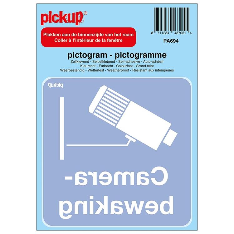 PICKUP Pictogram camerabewaking 100 mm x 100 mm