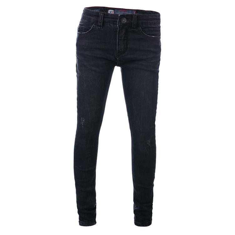 Blue Rebel TILE - Black wash - super skinny fit jeans - dudes