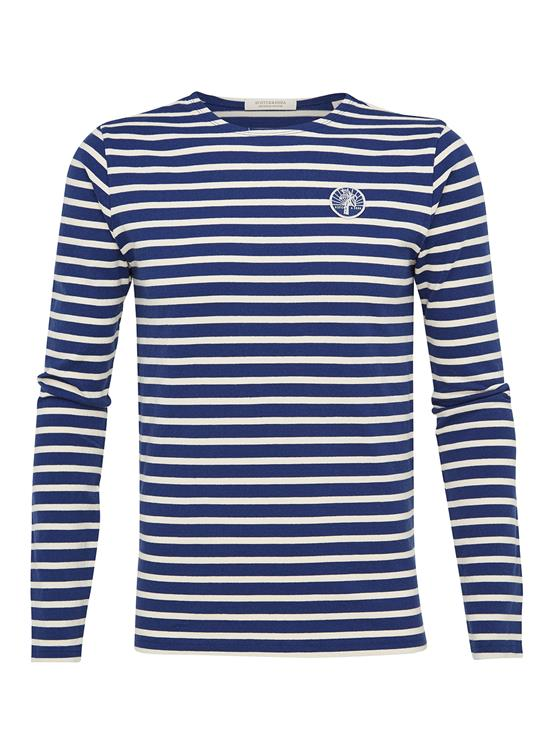 Scotch & Soda T-shirt Lange Mouw Breton