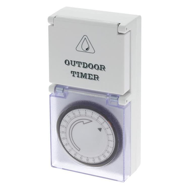 Q-link tijdschakelklok analoog, max 16a (3680w)