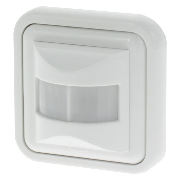 Q-link bewegingsmelder inbouw, wandmontage wit