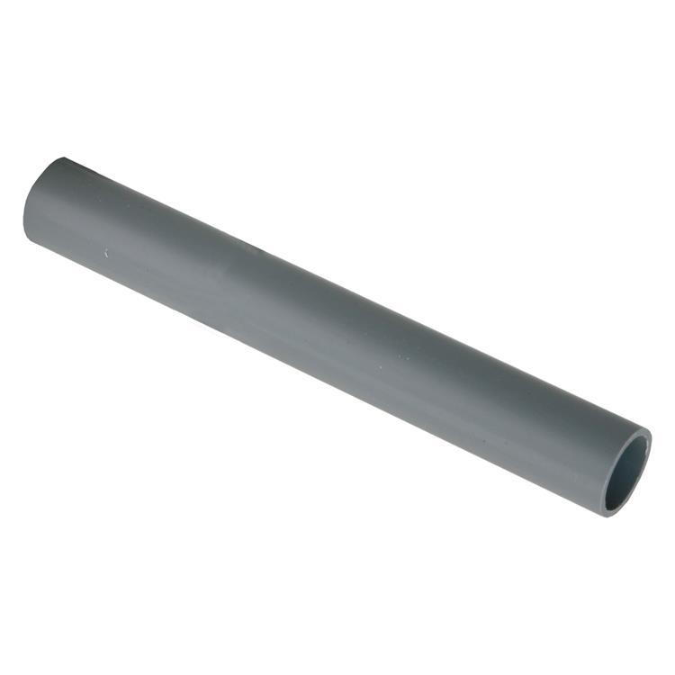 Installatiebuis slagvast ø5/8,2 m grijs