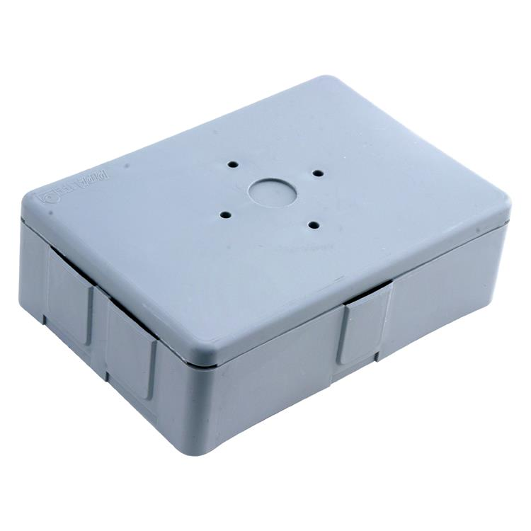 Pipelife lasdoos met deksel flexbox, universeel, pipe 16/19 mm grijs