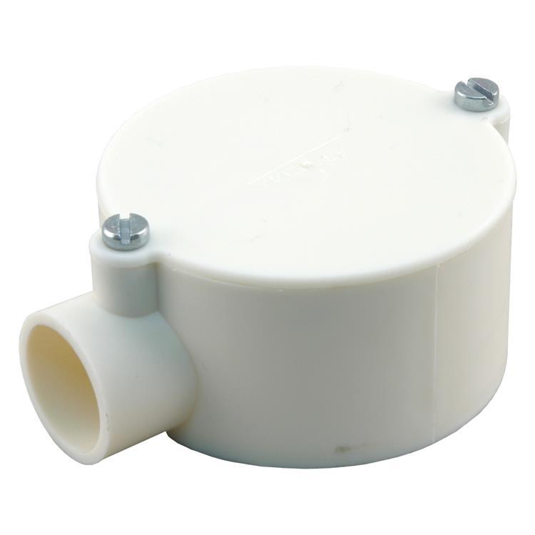 Attema lasdoos einddoos ø3/4 crème