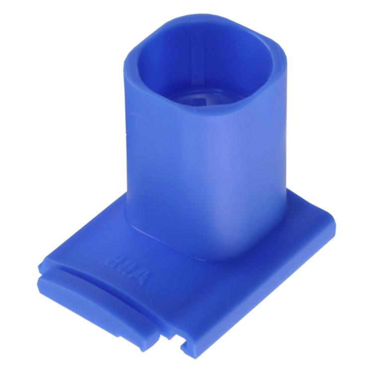 Haf spruitstuk multi 1 x ø5/8 - ø3/4 blauw.Inhoud 3 stuks