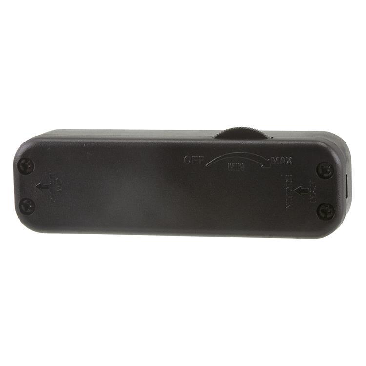 Q-link snoerdimmer 20-100w zwart
