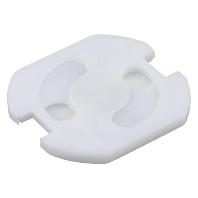 Q-link stopcontactbeveiliger zelfklevend wit.Inhoud 10 stuks