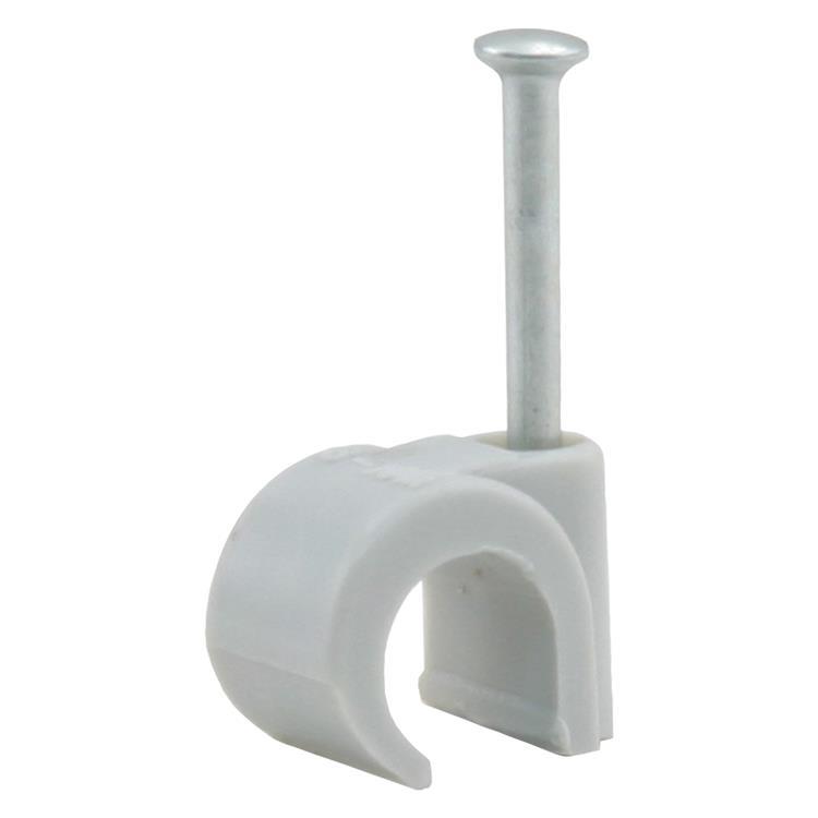 Q-link buisclip installatiebuis, rond 16-19 mm grijs.Inhoud 40 stuks
