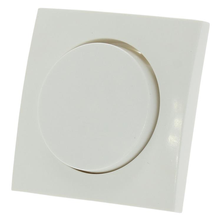 Berker s1 centraalplaat met knop dimmer polarwit
