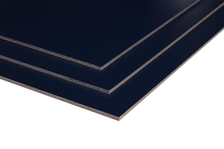 Dekokern HPL Plaat 3050x1220x6mm RAL 5011 staal blauw