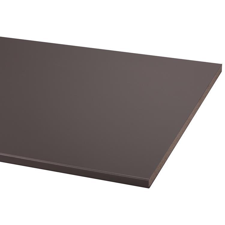 Werkblad antraciet 80x205cm (bxl) 29mm dik