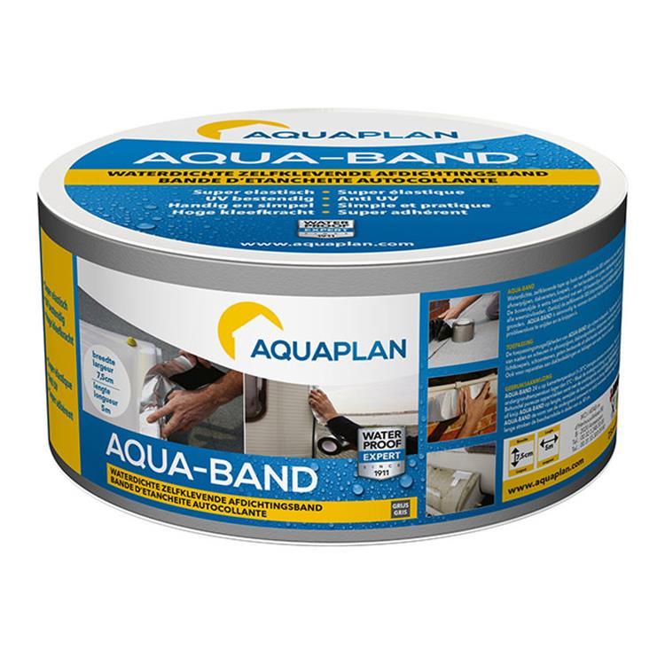 Aquaplan band grijs 5mx10cm