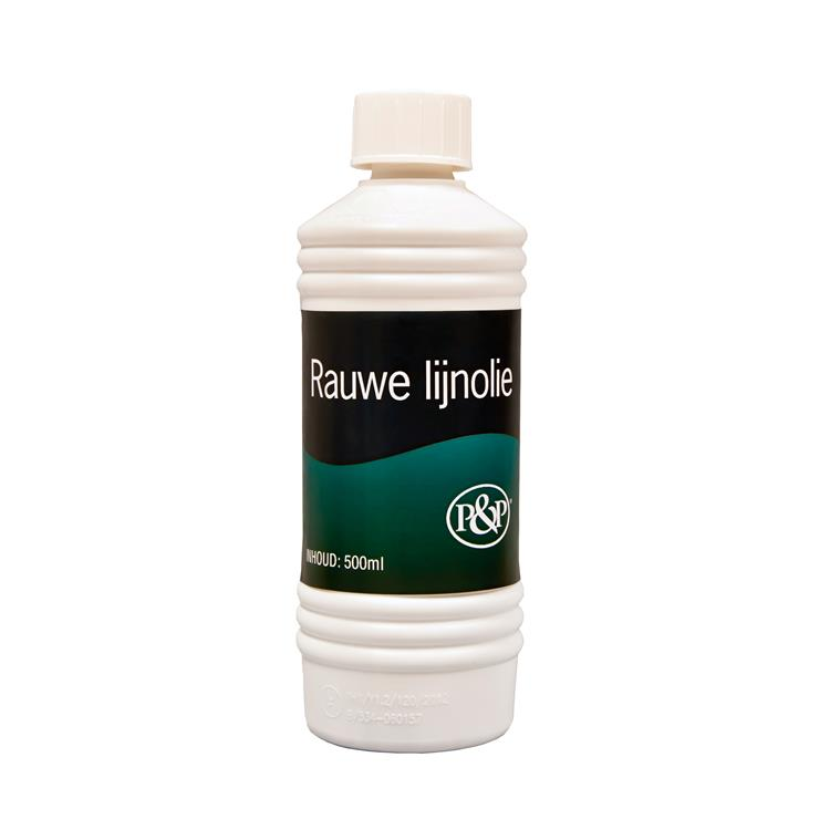 De Parel Rauwe lijnolie 500 ml