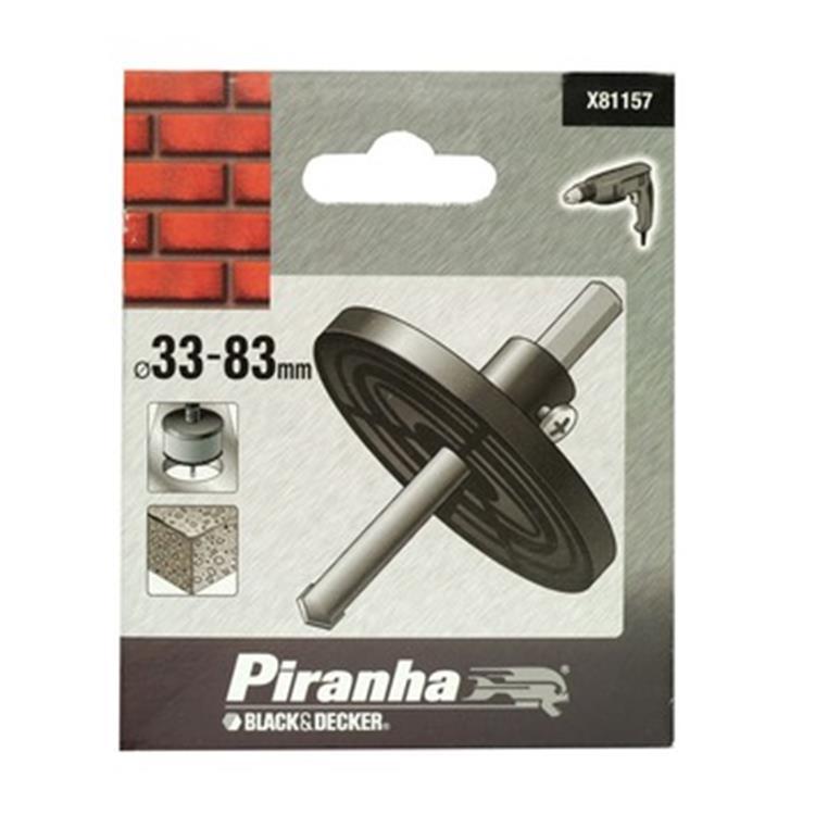 Piranha adapter TCT gatenzagen X81157
