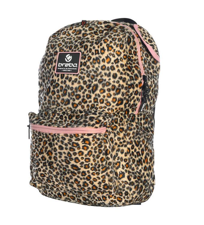 Brabo Backpack Storm Animal Leopard Hockeyrugtas