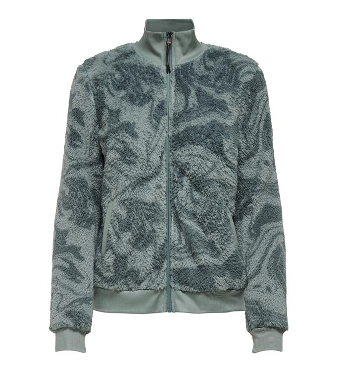Only Play Onpjael Fluffy LS Zip Jacket