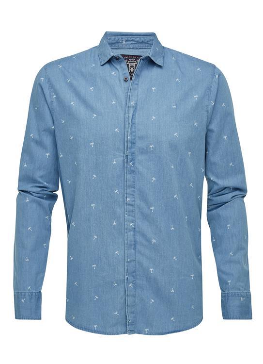 Amsterdams Blauw Shirts ls Dress
