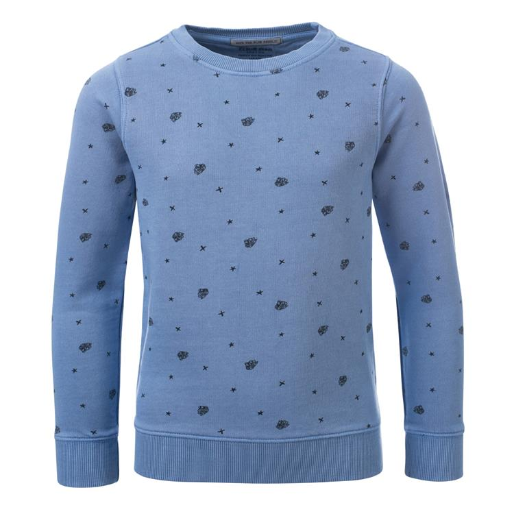 Blue Rebel SPOT ON - sweater crew neck - Blue - dudes