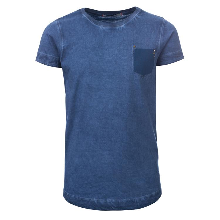 Blue Rebel SPOT ON - t-shirt ss - Kobalt - dudes