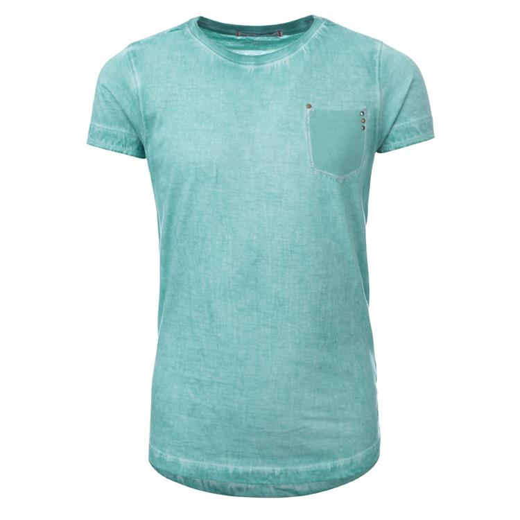 Blue Rebel SPOT ON - t-shirt ss - Mint - dudes