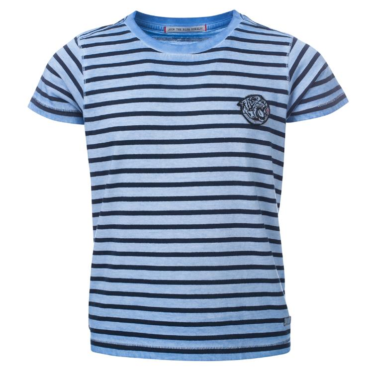 Blue Rebel SPOT ON - t-shirt ss - Blue - dudes