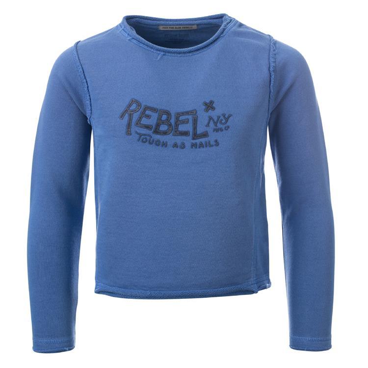 Blue Rebel SPOT ON - cropped sweater - Kobalt - betties