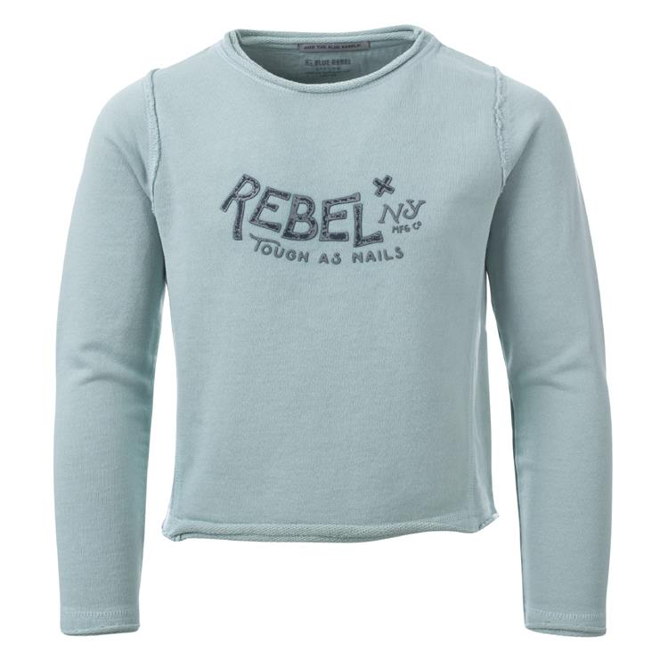 Blue Rebel SPOT ON - cropped sweater - Mint - betties