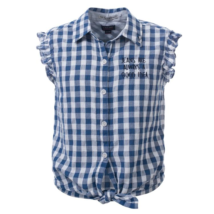 Blue Rebel SPOT ON - blouse short sleeve - Kobalt - betties