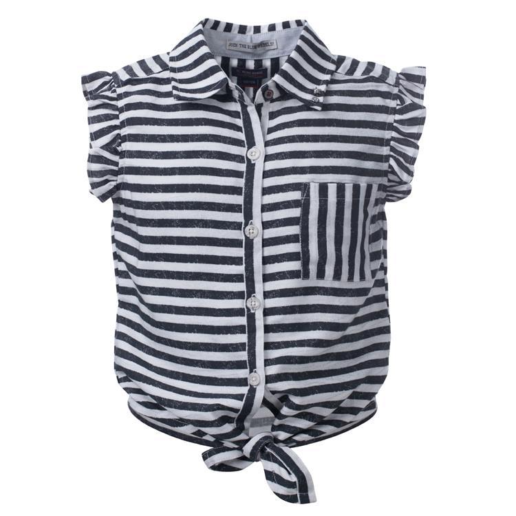 Blue Rebel SPOT ON - blouse short sleeve - Black - betties