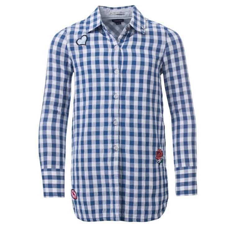 Blue Rebel SPOT ON - blouse long sleeve - Kobalt - betties