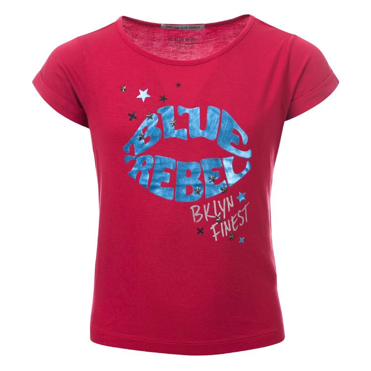 Blue Rebel SPOT ON - t-shirt short sleeve - Strawberry - betties