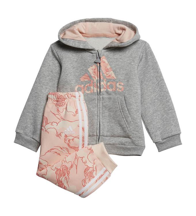 adidas Fleece Hooded Joggingpak Y
