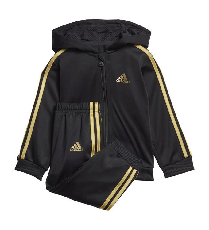 adidas Shiny FZ Hooded Trainingspak Y