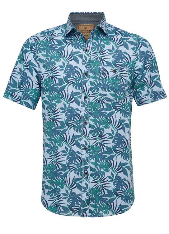 Fellows Overhemd Hawaii Print
