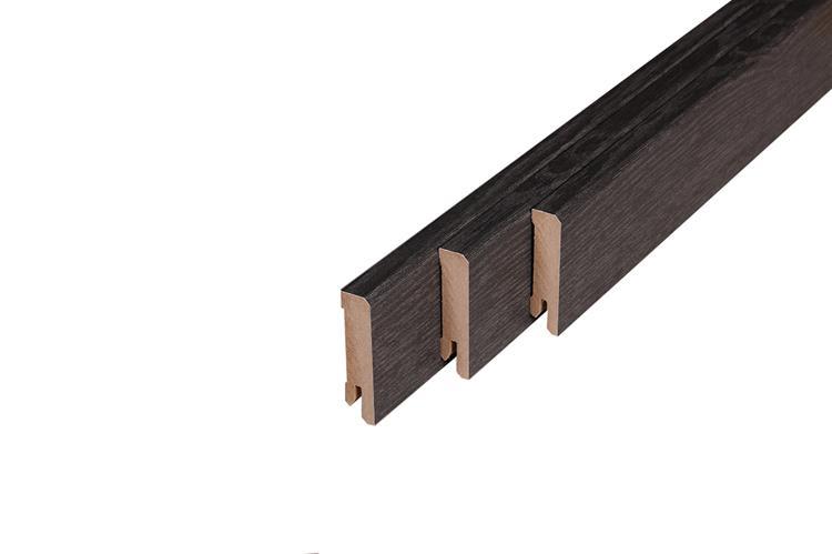 MDF Plint Black Oak 194