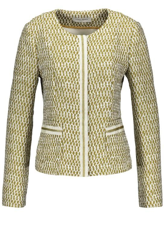 Gerry Weber Blazer White Figured