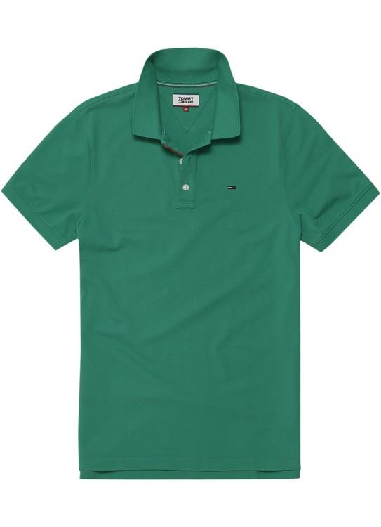 Tommy Hilfiger polo Basis Groen